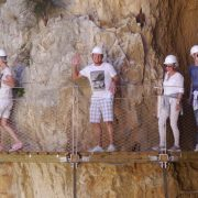 Guests at the Caminito del Rey tours