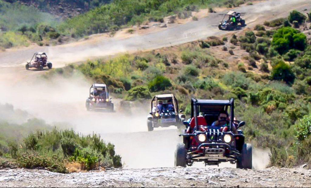 Stoffige weggetjes in de bergen van Marbella - Buggy Tour Marbella