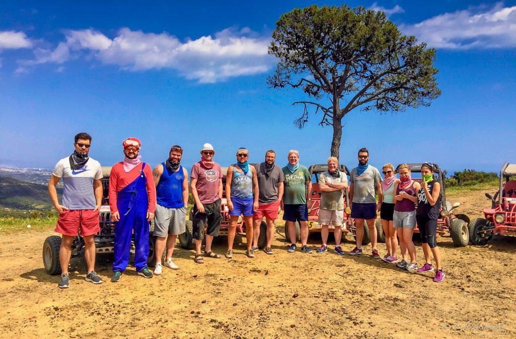 Buggy Tour Marbella, ideal voor bedrijfsuitjes, groepsexcursies