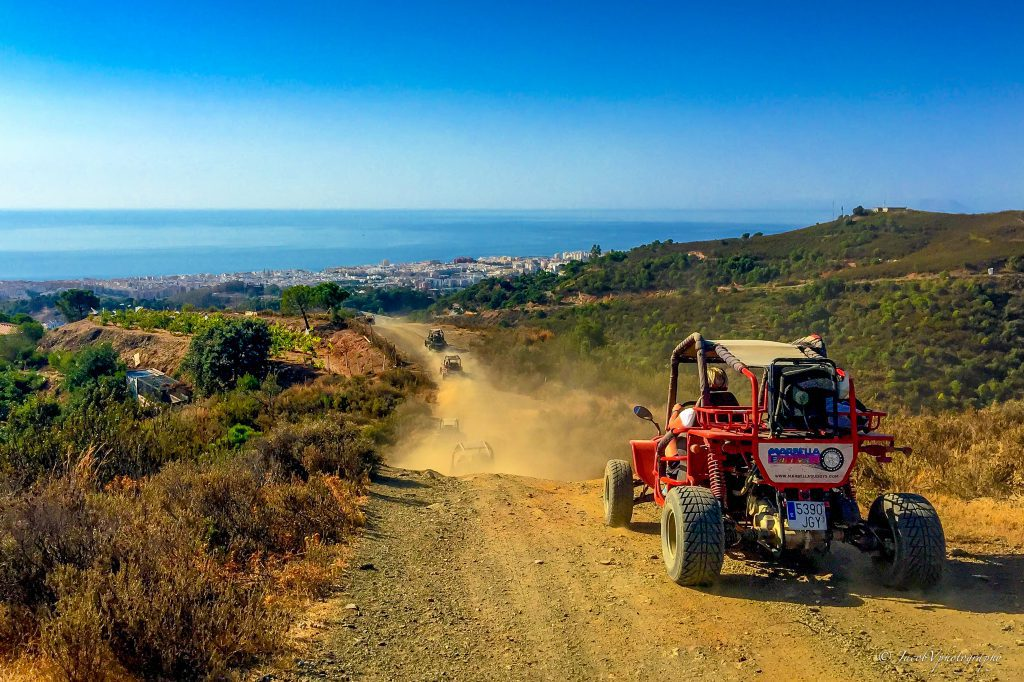 Prachtige uitzichten over de Middellandse Zee - Buggy Tour Marbella